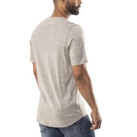 Bergans Explore Wool Bluzka z krótkim rękawem Mężczyźni szary
